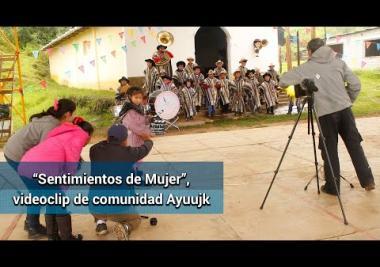 Videoclip resalta memoria histórica de pueblo ayuujk, y la inclusión de las mujeres
